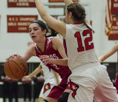 Olivia Valente, a senior captain, has led the Saugus Sachems to a 14-5 record this season.