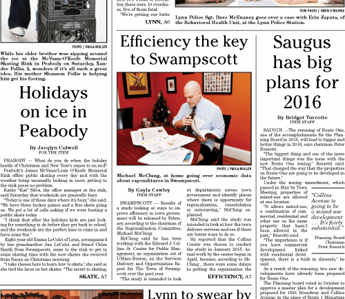 January 4, 2016 Front Page