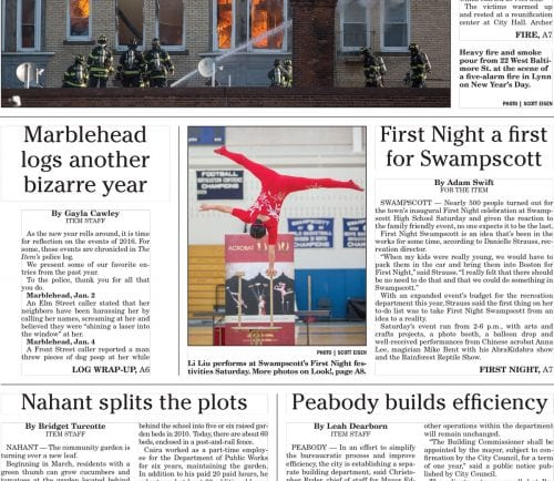 January 2, 2017 Front Page