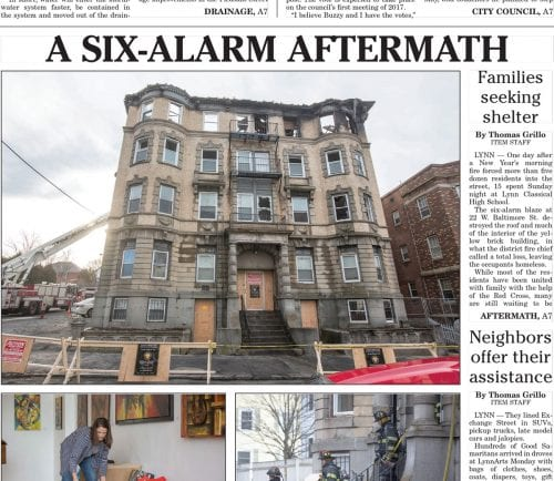 January 3, 2017 Front Page