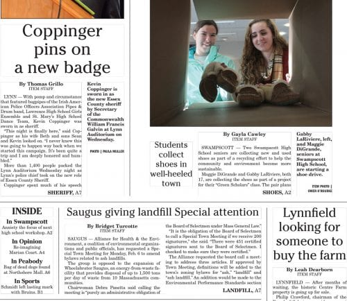 January 5, 2017 Front Page