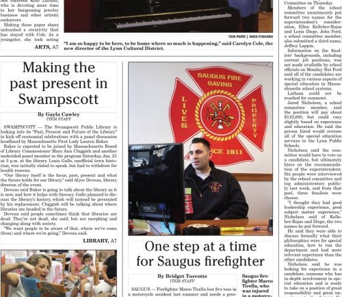January 10, 2017 Front Page