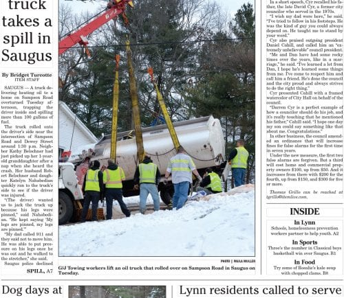 January 11, 2017 Front Page