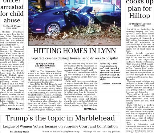January 18, 2017 Front Page