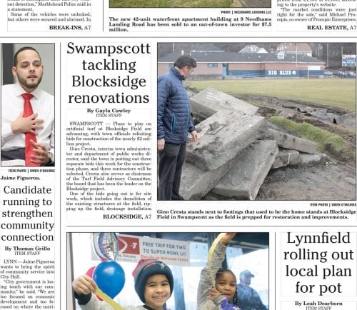 January 24, 2017 Front Page