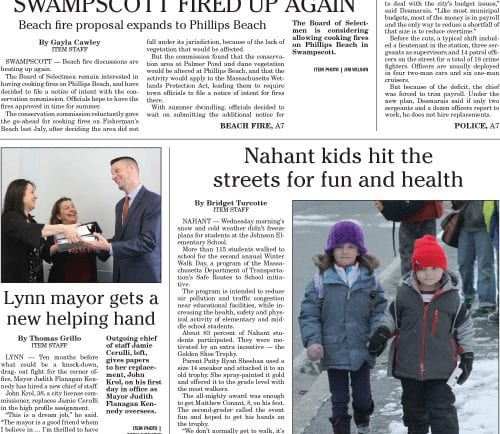 February 2, 2017 Front Page