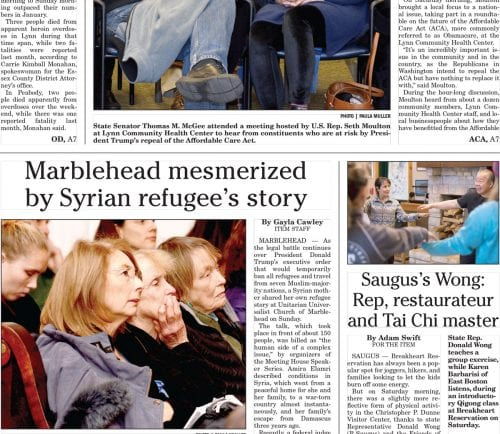 February 6, 2017 Front Page
