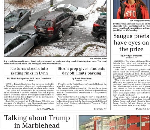 February 9, 2017 Front Page