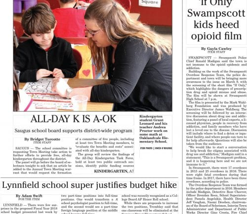 February 15, 2017 Front Page