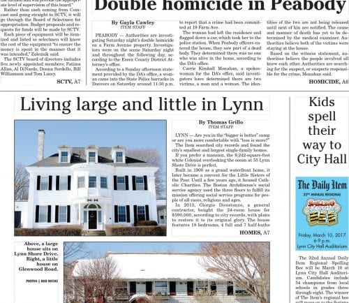 February 20, 2017 Front Page
