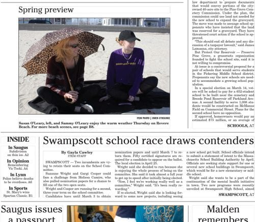 February 24, 2017 Front Page