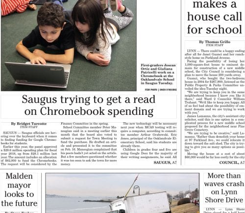 March 1, 2017 Front Page