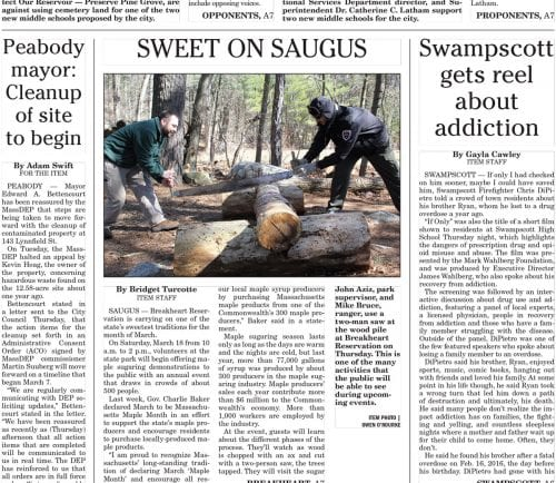 March 10, 2017 Front Page
