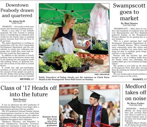 June 12, 2017 Front Page
