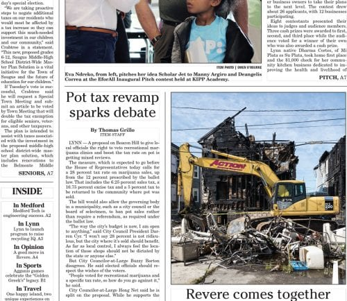 June 15, 2017 Front Page
