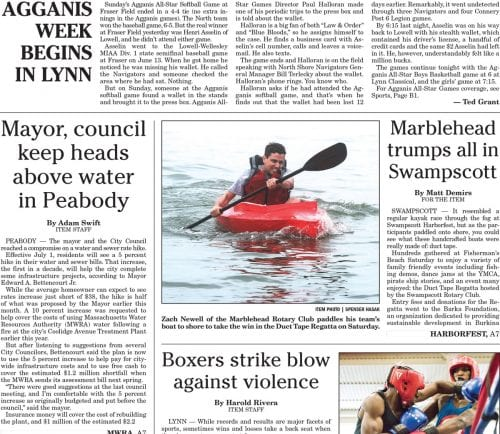 June 26, 2017 Front Page