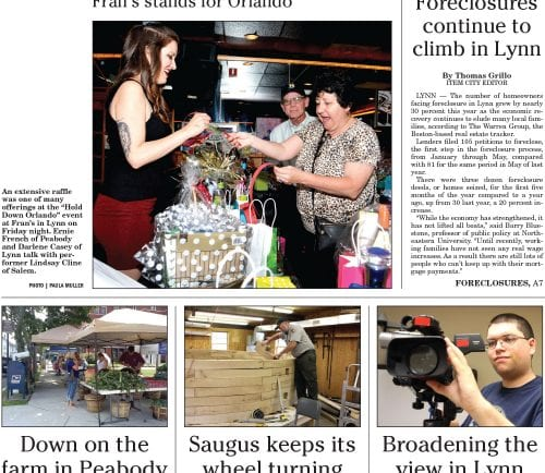 July 9, 2016 Front Page