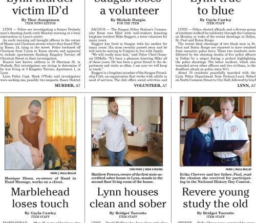 July 12, 2016 Front Page