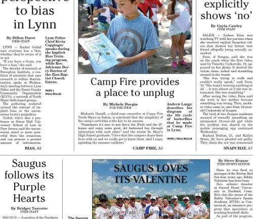 July 14, 2016 Front Page