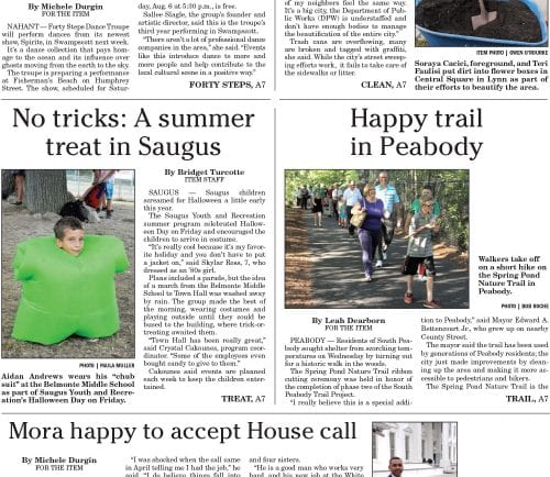 July 30, 2016 Front Page