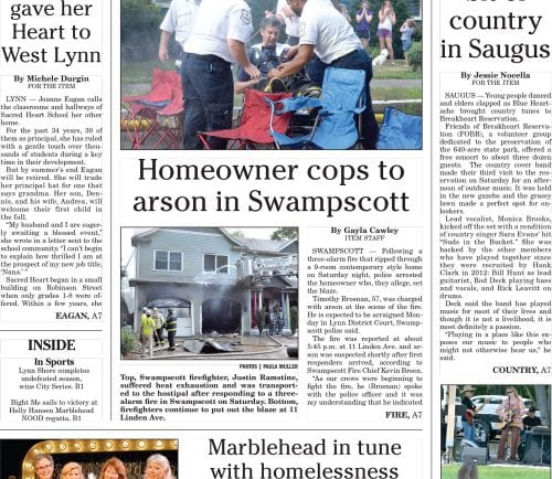 August 1, 2016 Front Page