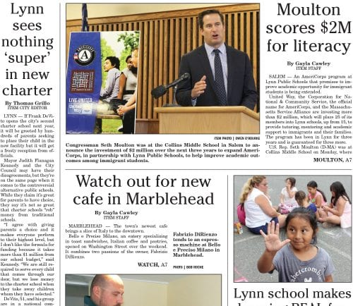 August 2, 2016 Front Page