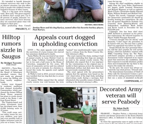 September 24, 2016 Front Page