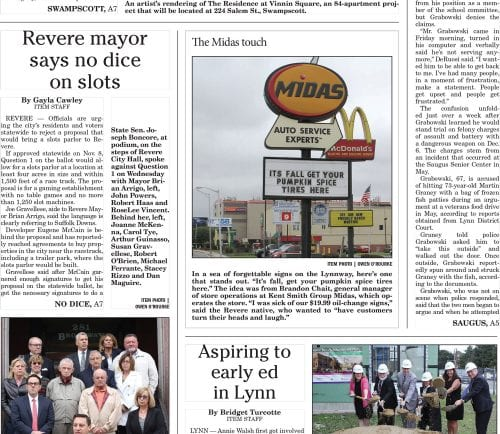 September 29, 2016 Front Page