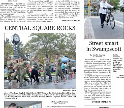 October 3, 2016 Front Page