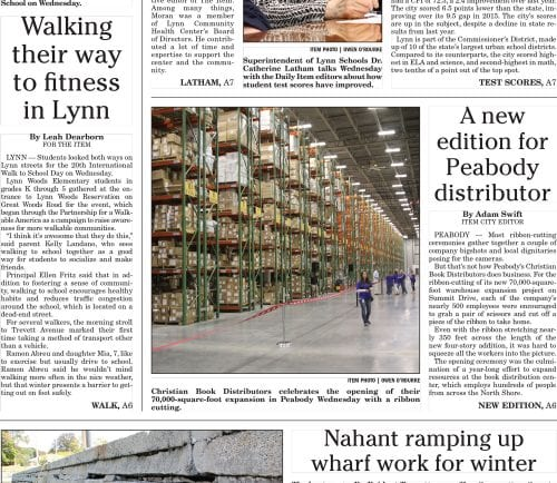 October 6, 2016 Front Page