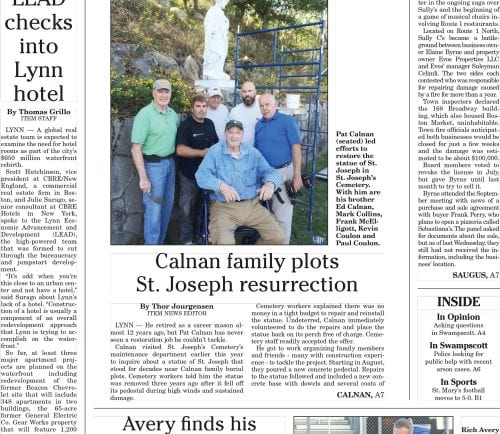October 10, 2016 Front Page