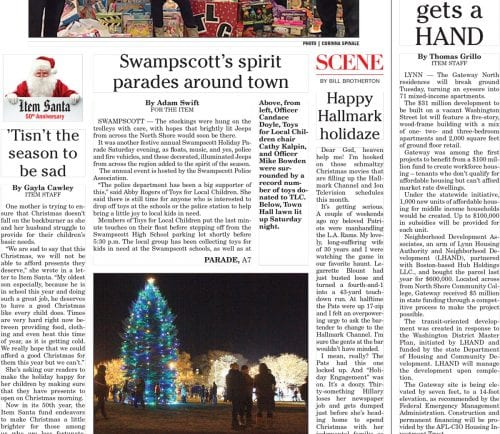 December 12, 2016 Front Page