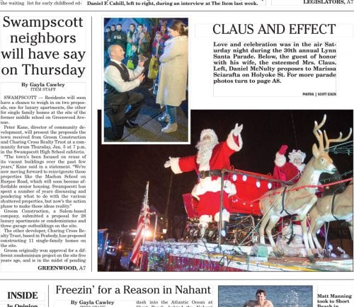 December 26, 2016 Front Page