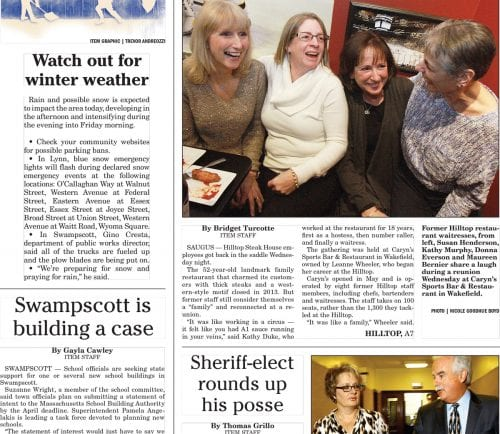 December 29, 2016 Front Page