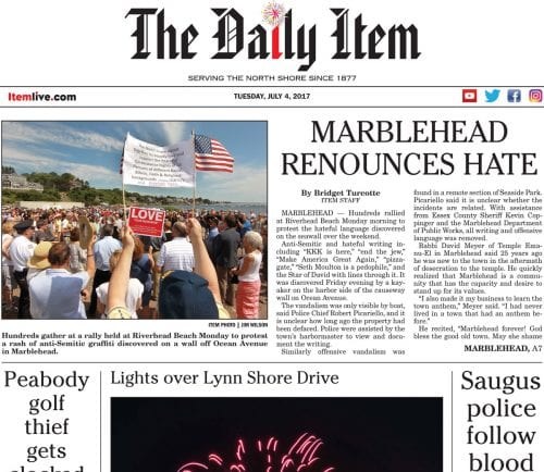 July 4, 2017 Front Page