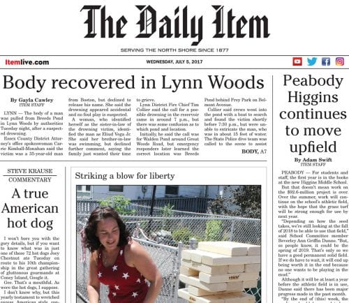 July 5, 2017 Front Page