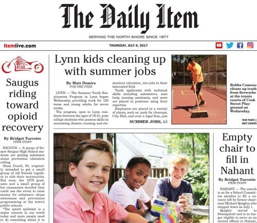July 6, 2017 Front Page