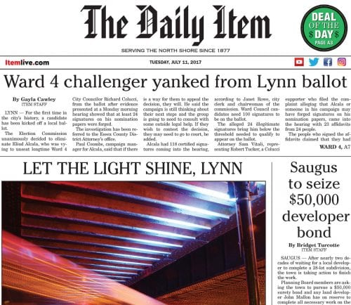 July 11, 2017 Front Page