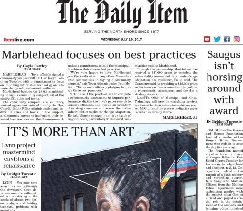 July 19, 2017 Front Page