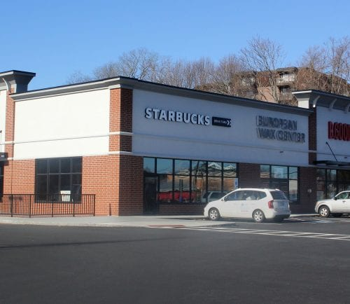 Swampscott, Ma. 2-5-18. The new location of Starbucks in Swampscott is at 450 Paradise Road, the former site of the Walgreens.