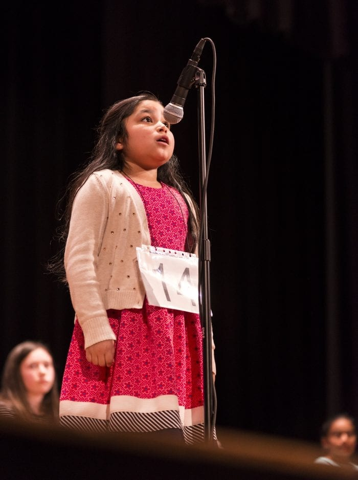 She may have come in fourth but third-grader Sara Granados of Revere was the crowd favorite at the 33rd Annual Daily Item Regional Spelling Bee.