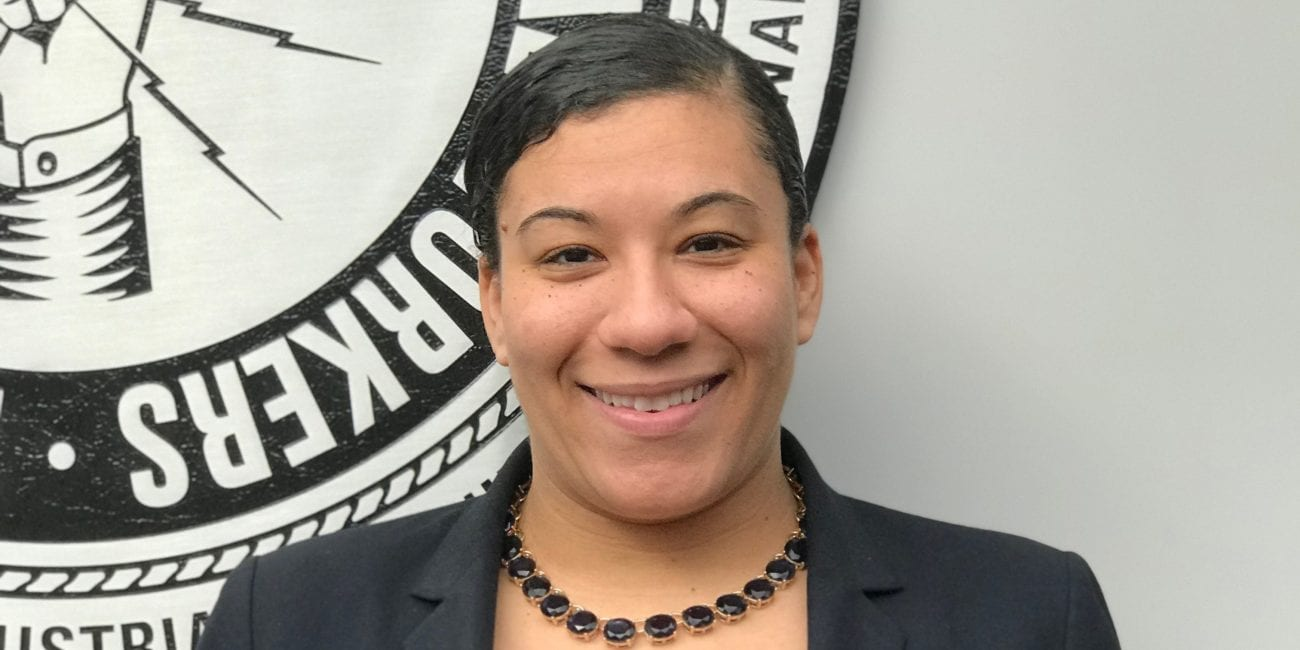 Kenell Broomstein, a Lynn Tech graduate, is the first woman of color to be named to a leadership role at any major Boston construction union.