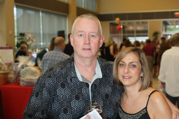 John and Deanne Healey of Lynnfield at the 9th annual North Shore Cancer WALK Gourmet Gala.