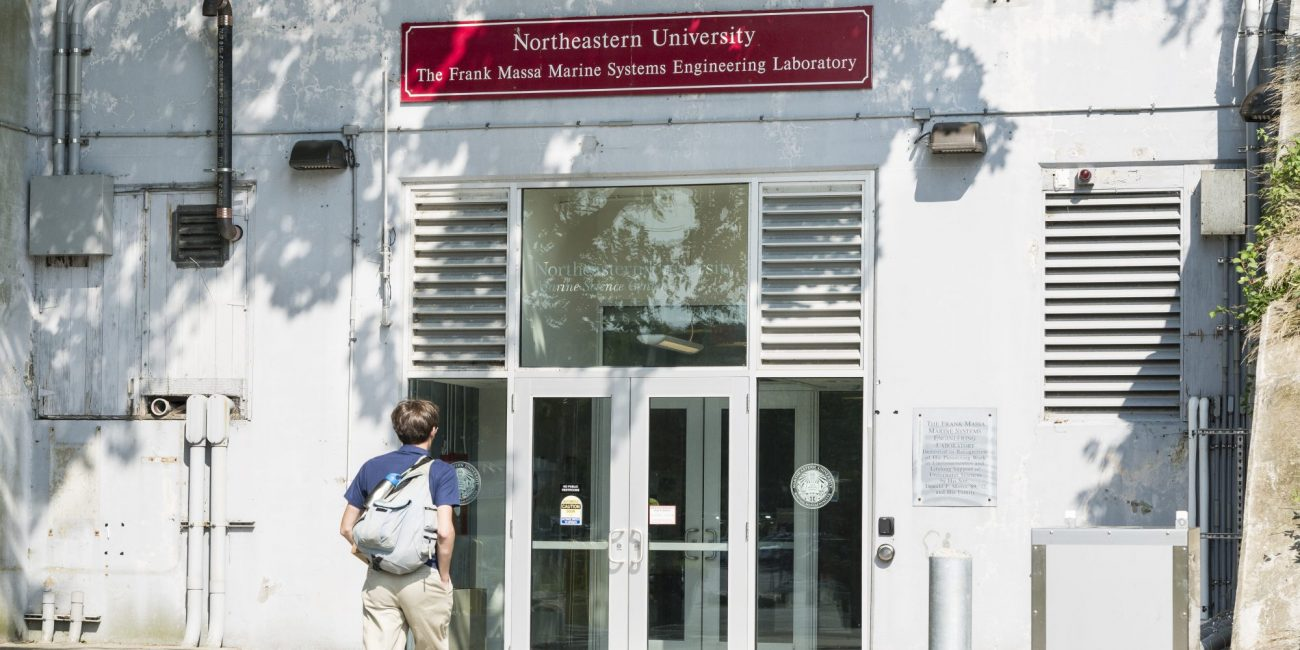 Northeastern University's facility in Nahant.