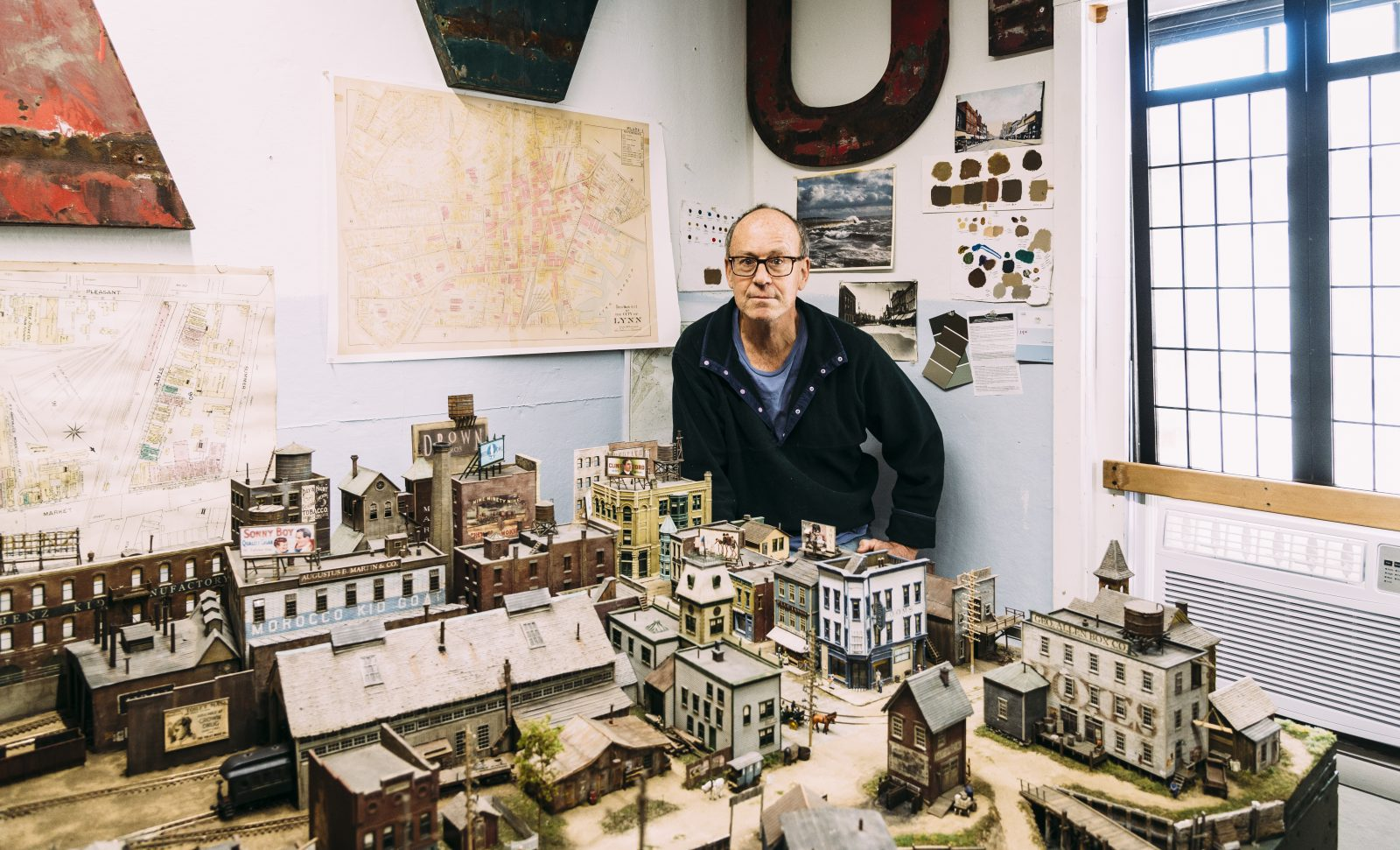 This man has spent years building a model of Lynn in 1895