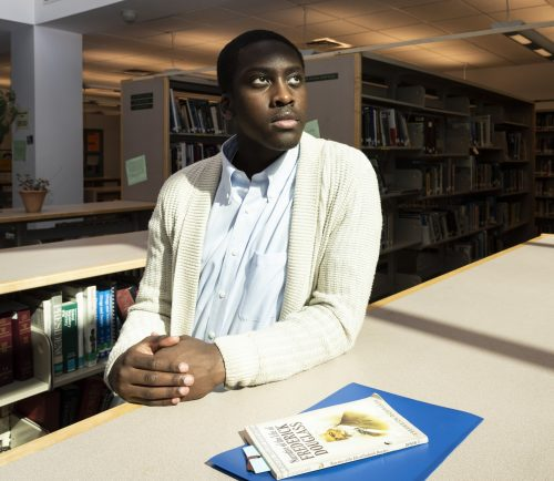 Lynn Classical High School junior Joseph Severe has been awarded the Fredrick Douglass Bicentennial Award at the Regional National History Day competition and plans to use part of his scholarship to create a Civil Rights section in the school's library.