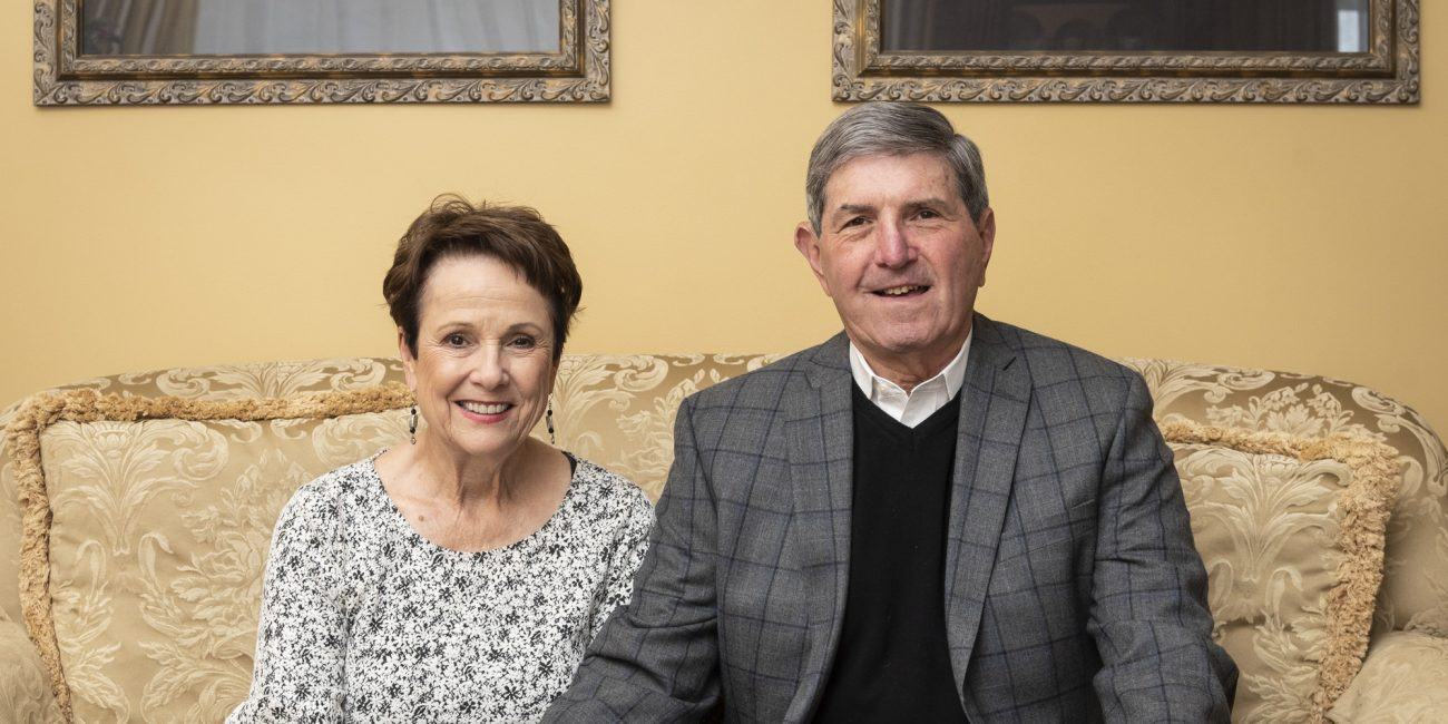 Mary and Joel Abramson have been long-time sponsors of the Daily Item Regional Spelling Bee.