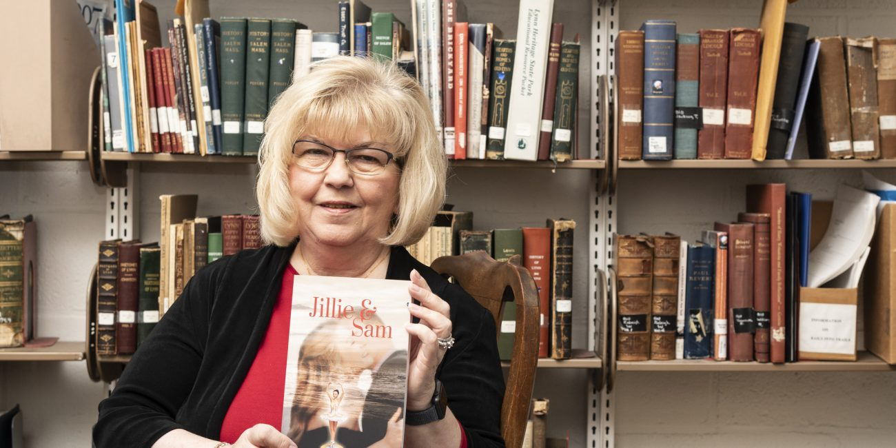 """Lina Rehal, author of """"Jillie & Sam"""" will be at the Swampscott Public Library for a book signing and presentation."""