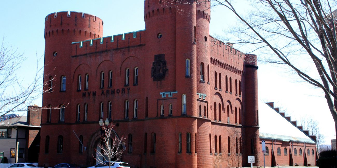 Lynn, Ma. 4-3-19. The Lynn Armory will be converted to housing for veterans.