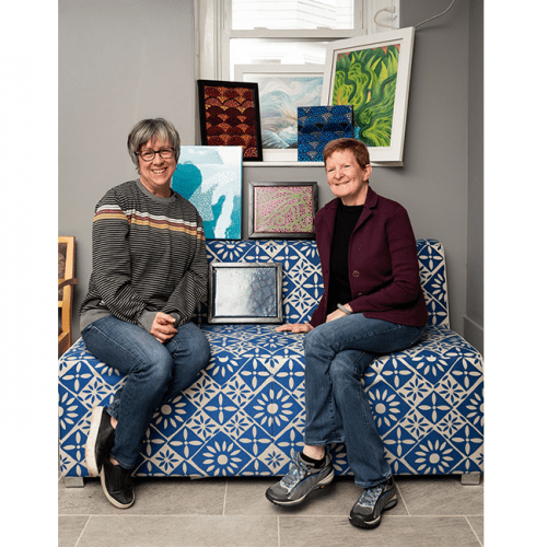 Jackie Kinney and Heidi Shear are organizing the Community Connections Festival at ReachArts.